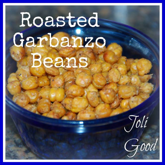 Roasted Garbanzo Beans. Garbanzo beans, also known as chickpeas, are an excellent source of essential nutrients, iron, folate, phosphorus, protein and dietary fiber | lookingjoligood.woordpress.com