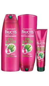 Free Sample Garnier Fructis Full & Plush Hair Care! | lookingjoligood.wordpress.com