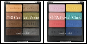 The ICON EYESHADOW COLLECTION also comes in two other pallet selections 738 Comfort Zone and 737A Poster Child. | lookingjoligood.wordpress.com