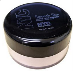 It is a finely milled powder that mattifies the face without adding an extra thick layer of makeupy weight.