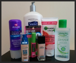 Mini Drugstore Haul | lookingjoligood.wordpress.com