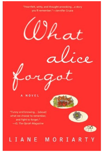 What Alice Forgot by Laine Moriarty Book Review | lookingjoligood.wordpress.com