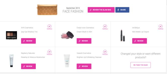 September Ipsy Glam Bag | lookingjoligood.wordpress.com