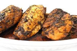 Balsamic Rosemary Chicken | lookingjoligood.wordpress.com