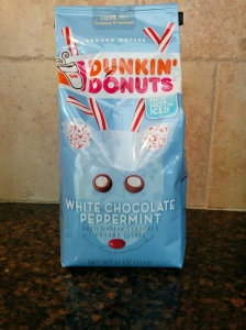 While I don't think that it really tastes like white chocolate or peppermint, this @DunkinDonuts coffee is very good!!!! lookingjoligood.wordpress.com