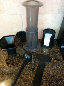 Aero Press Coffee Maker | lookingjoligood.wordpress.com