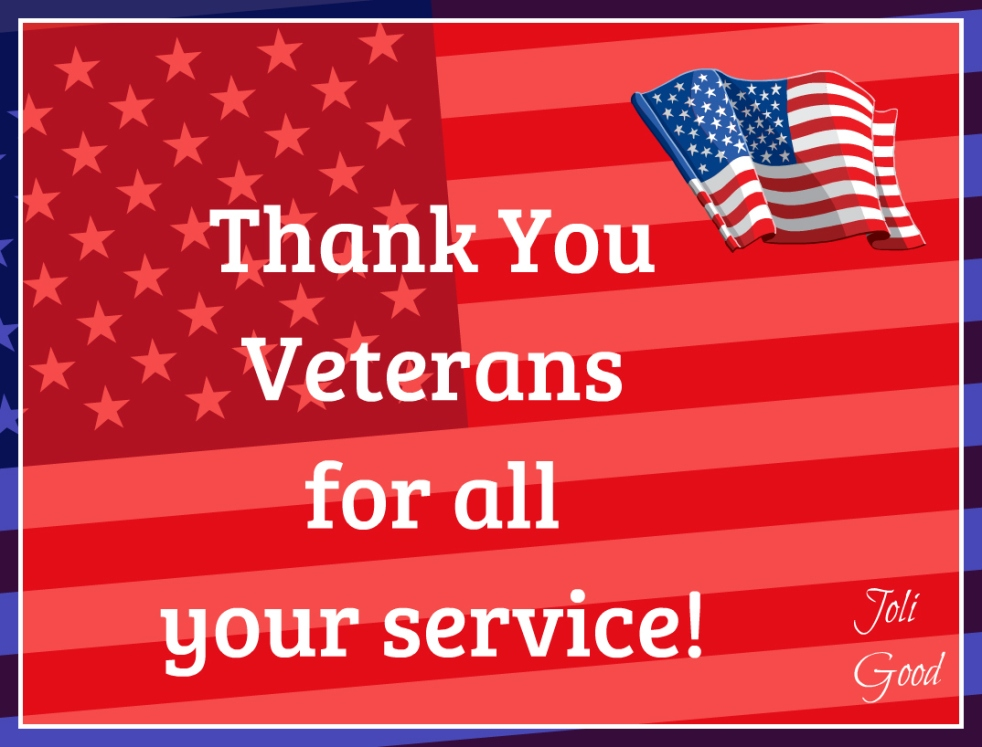 Thank You Veterans | lookingjoligood.wordpress.com