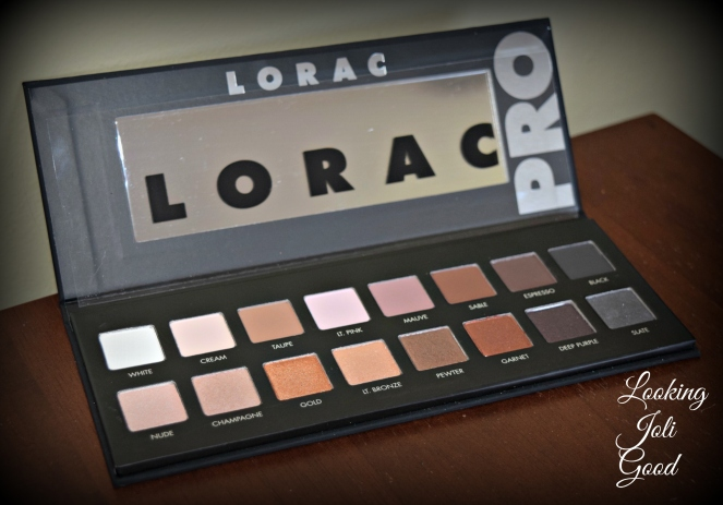 Lorac Pro Palette Review | lookingjoligood.wordpress.com