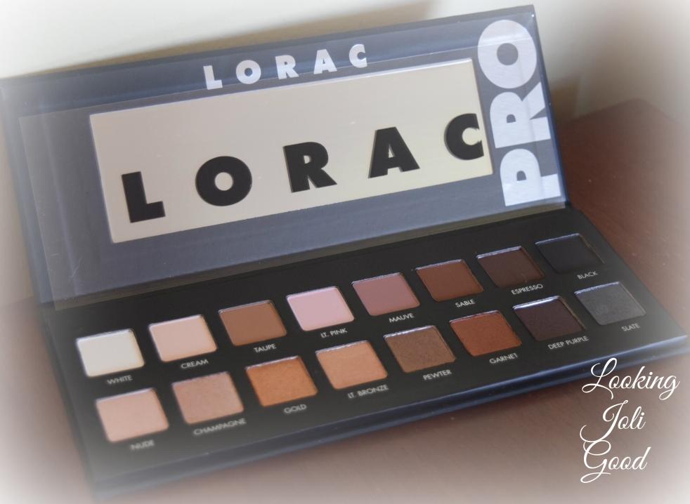 Lorac Pro Palette Review | lookingjoligood.wordpress.com