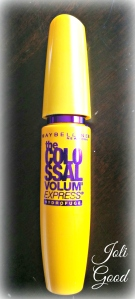Maybelline VOLUM' EXPRESS® THE COLOSSAL WATERPROOF MASCARA IN GLAM BLACK. | lookingjoligood.wordpress.com