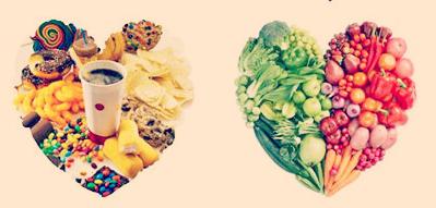 junk-food-vs-healthy-food | lookingjoligood.wordpress.com