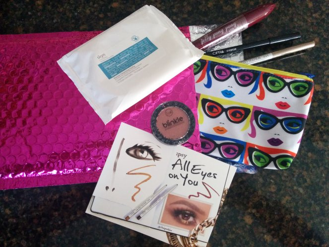 ipsy January 2016 glam bag | lookingjoligood.wordpress.com