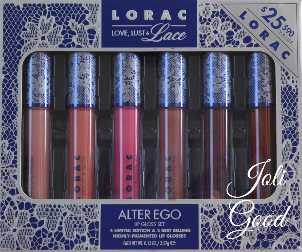LORAC Love, Lust & Lace Alter Ego Lip Gloss Set lookingjoligood.wordpress.com
