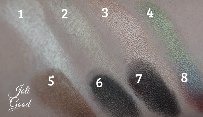 Wet N WildComfort ZonePalette swatches