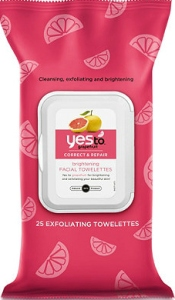 YES to Grapefruit facial wipes | lookingjoligood.wordpress.com