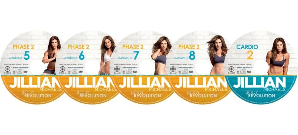 Jillian Michaels Body Revolution Phase 2 Workout 5 | lookingjoligood.wordpress.com