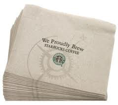Starbucks Napkins are perfect for blotting! | lookingjoligood.wordpress.com