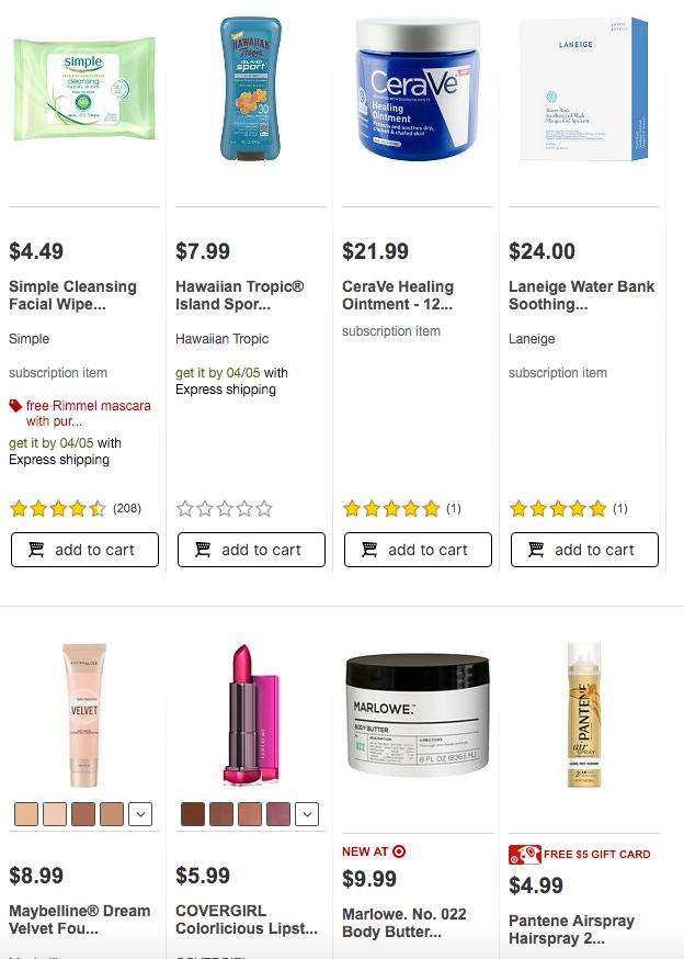 Coming Soon! Target Beauty Box April 2016!   lookingjoligood.wordpress.com