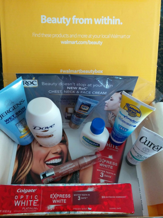 Walmart Spring Beauty Box | lookingjoligood.wordpress.com