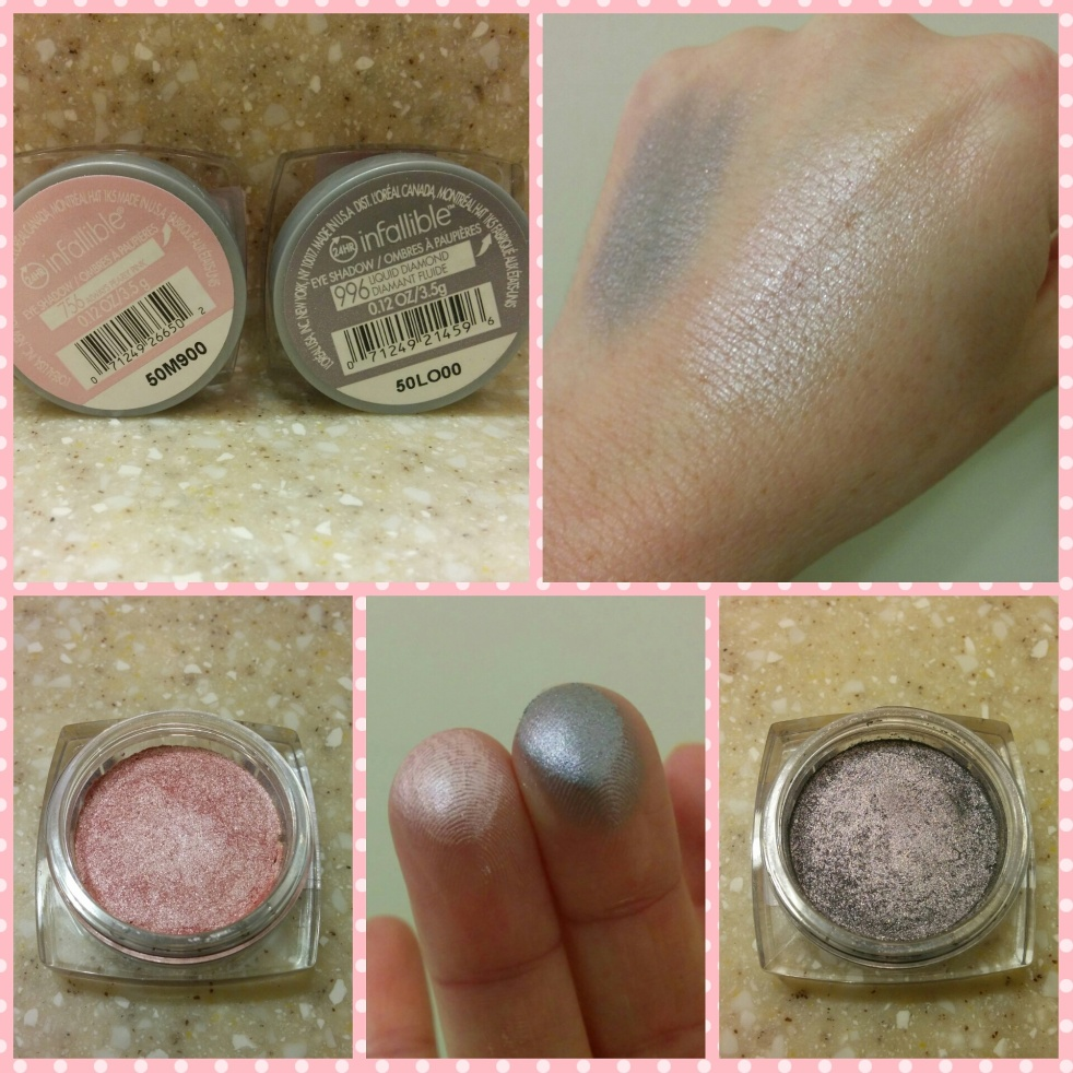 Loreal Infallible Eyeshadows