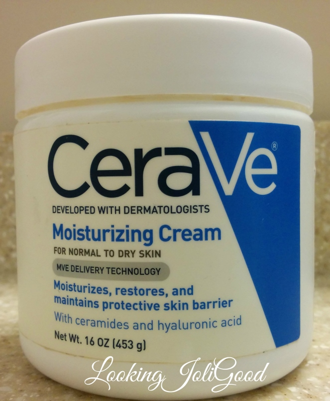 CeraVe Moisturizing Cream | lookingjoligood.wordpress.com