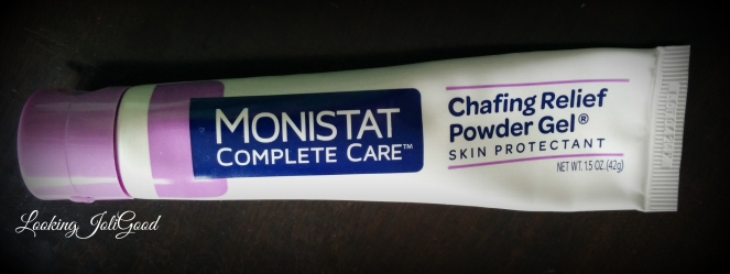Monistat Complete Care Chafing Relief Powder Gel | lookingjoligood.wordpress.com
