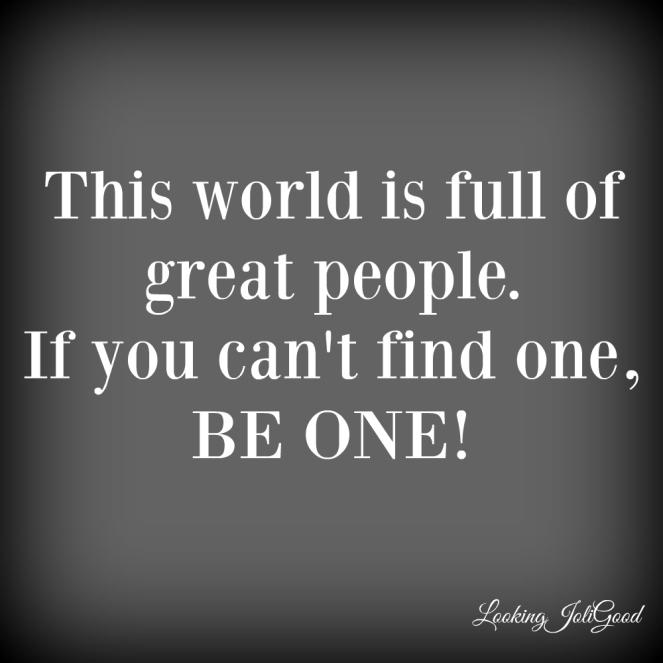 great people | lookingjoligood.wordpress.com
