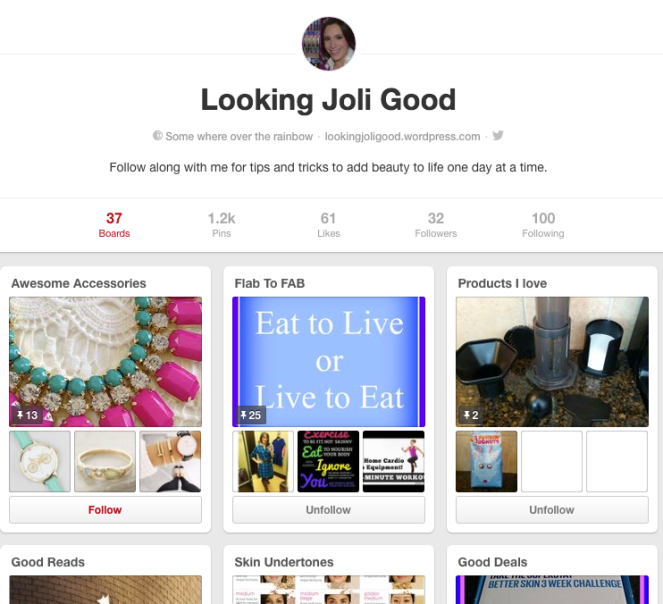 Pinterest | lookingjoligood.worpress.com