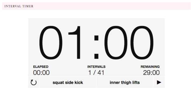 29 MINUTE LEG CIRCUIT FOR WOMEN | lookingjoligood.wordpress.com