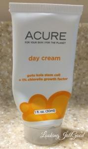 Acute Day Cream | lookingjoligood.wordpress.com