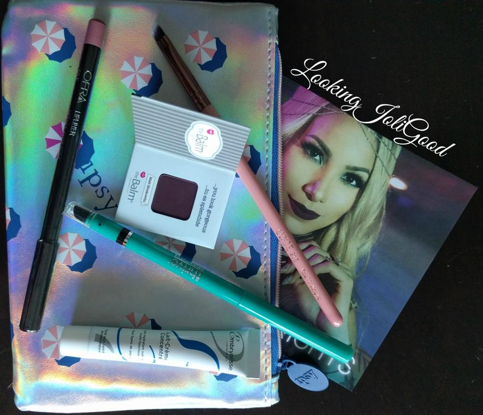 Ipsy Glam Bag July 2016   lookingjoligood.wordpress.com