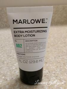 Marlowe Body Lotion | lookingjoligood.wordpress.com