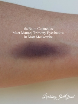 theBalm Cosmetics Meet Matt(e) Trimony Eyeshadow in Matt Moskowitz | lookingjoligood.wordpress.com