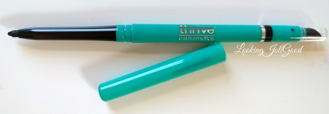 Thrive Causmetics infinity waterproof eyeliner in Lauren | lookingjoligood.wordpress.com
