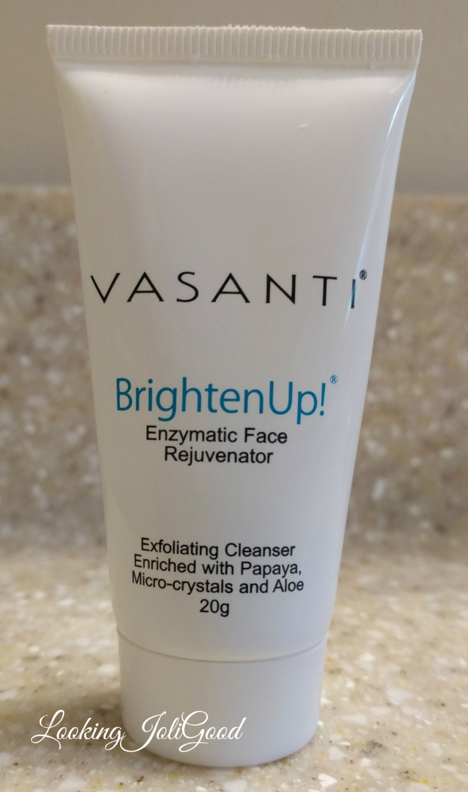 Vasanti Brighten Up Exfoliating Cleanser | lookingjoligood.wordpress.com
