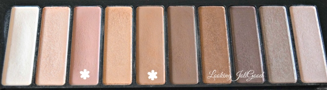 Loreal Colour Riche La Palette Nude Crease Shades | lookingjoligood.wordpress.come