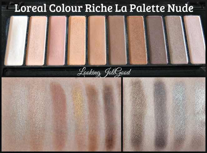 Loreal Colour Riche La Palette Nude | lookingjoligood.wordpress.com