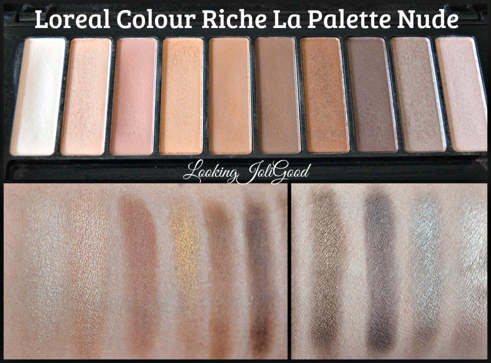 Loreal Colour Riche La Palette Nude | lookingjoligood.wordpress.com