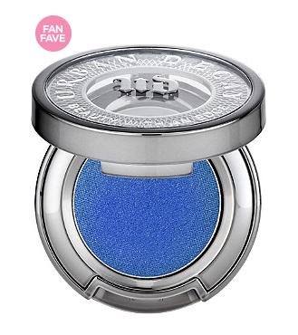 URBAN DECAY COSMETICS Eyeshadow Divebar (medium blue w/pink-purple shift)