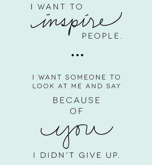 be-an-inspiration | lookingjoligood.wordpress.com