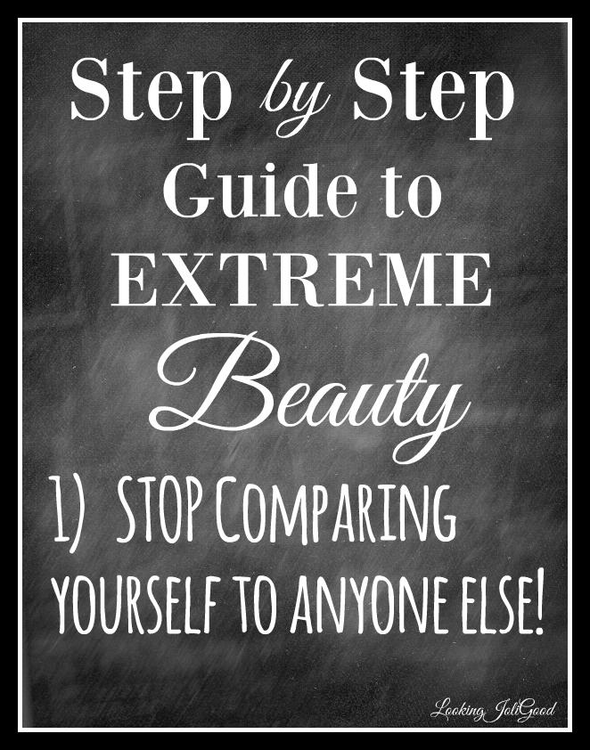 Extreme beauty guide | lookingjoligood.wordpress.com