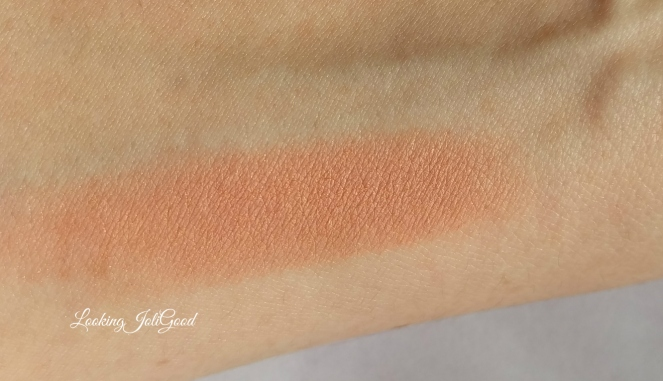 blush swatch | lookingjoligood.wordpress.com