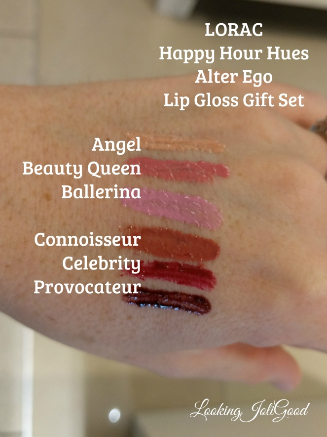 LORAC Happy Hour Hues Alter Ego Lip Gloss set | lookingjoligood.wordpress.com