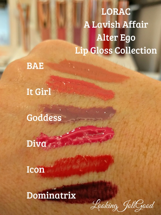 lorac a lavish affair lip gloss set | lookingjoligood.wordpress.com
