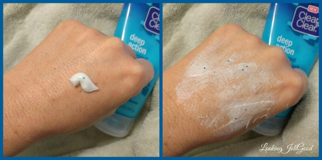 clean and clear deep action 60 second shower mask | lookingjoligood.wordpress.com