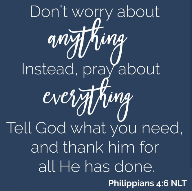 don't worry pray | lookingjoligood.blog