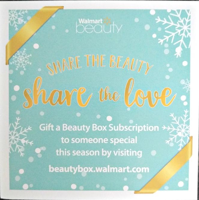 walmart bueauty box gift box | lookingjoligood.wordpress.com