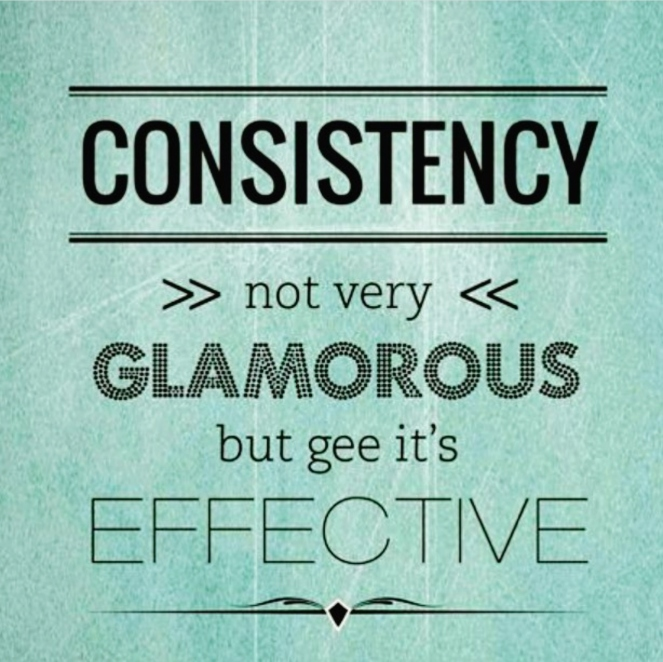 consistency | lookingjoligood.wordpress.com