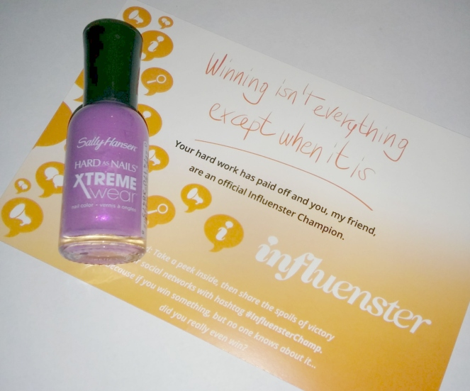 sally-hansen-hard-as-nails influenster | lookingjoligood.wordpress.com