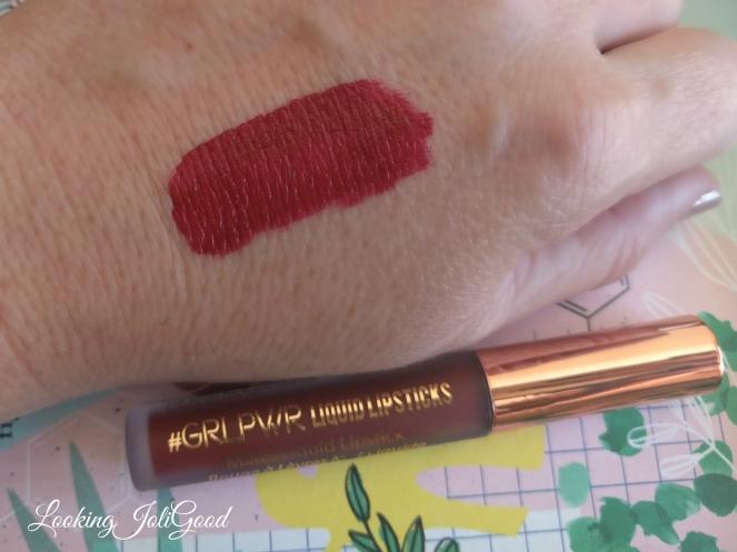 grlpwr liquid lipstick birchbox | lookingjoligood.blog